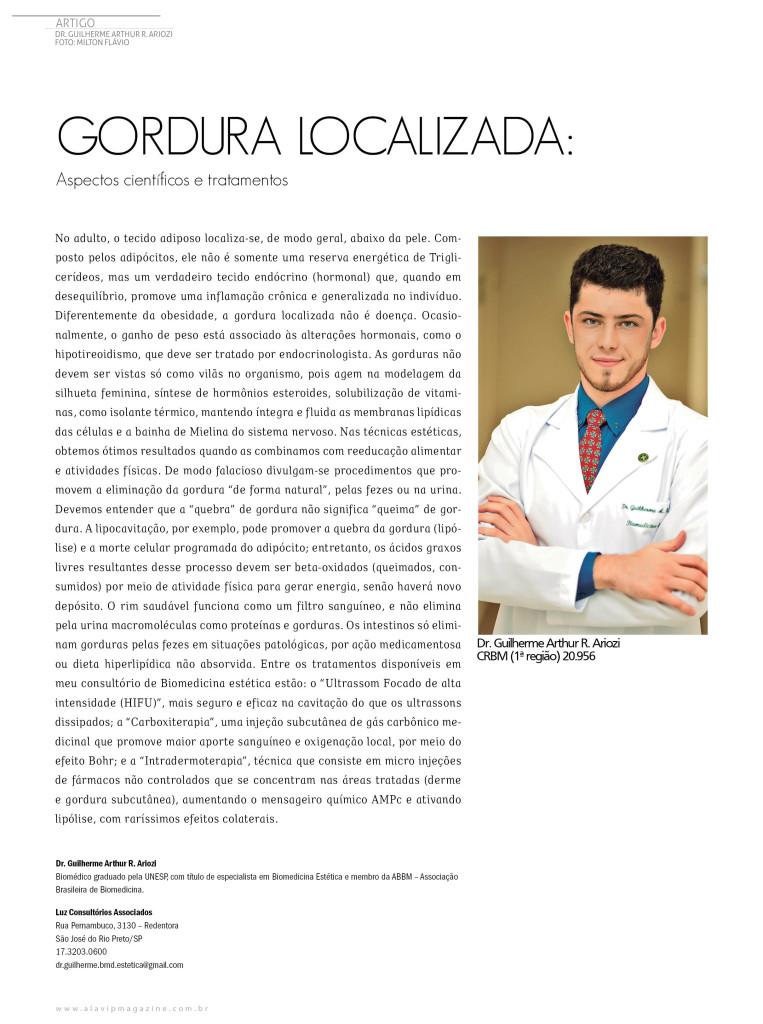 Dr Guilherme Arthur R Ariozi